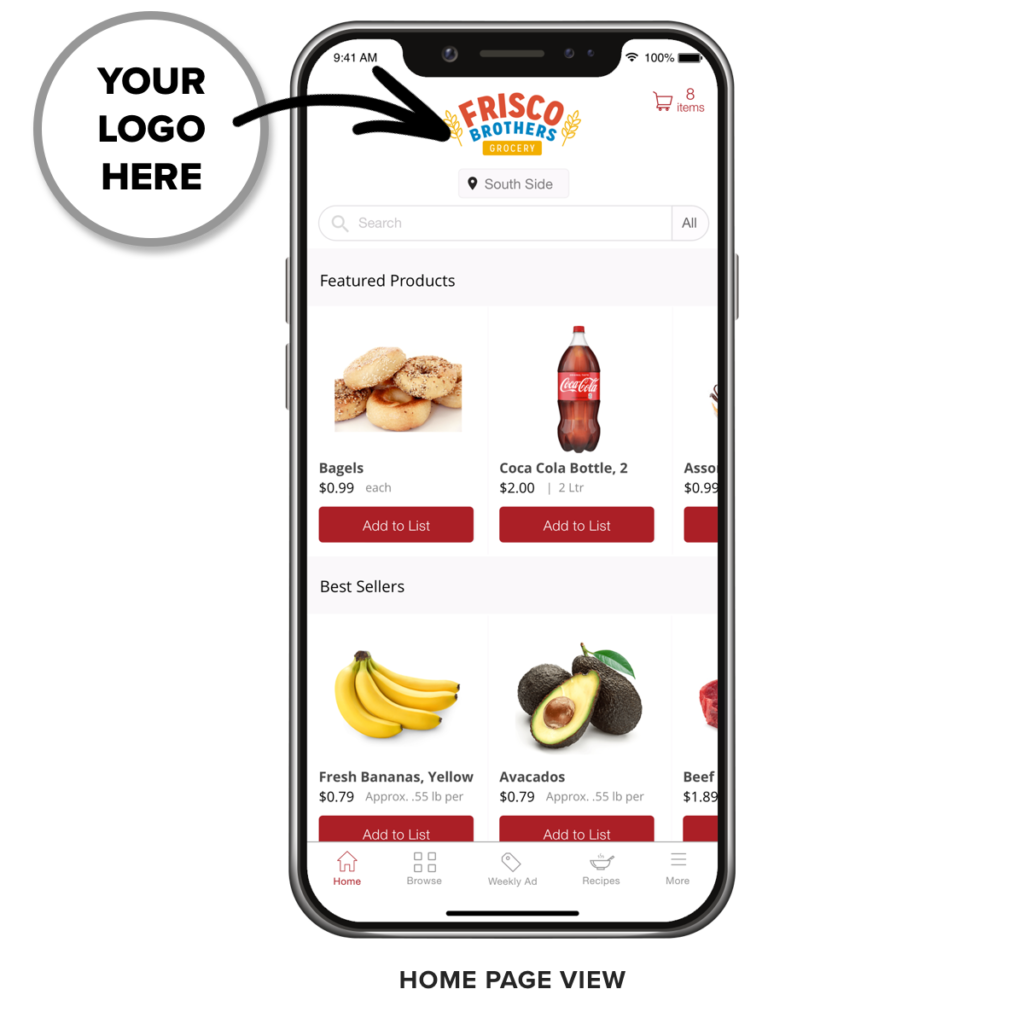 Freshop Express - App Home Page
